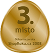 3.místo - shop roku 2008