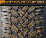 Pneumatiky Continental ContiWinterContact TS 850 205/60 R15 91T