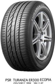 Pneumatiky Bridgestone TURANZA ER300 245/40 R17 91W  TL