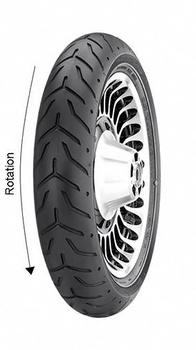 Pneumatiky Dunlop D408F 130/70 R18 63H  TL
