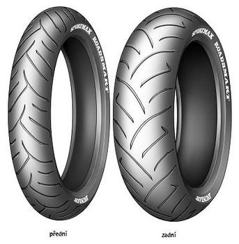 Pneumatiky Dunlop SPMAX ROADSMART 120/70 R17 58W  TL