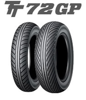 Pneumatiky Dunlop TT72 GP 100/90 R12 49J  TL