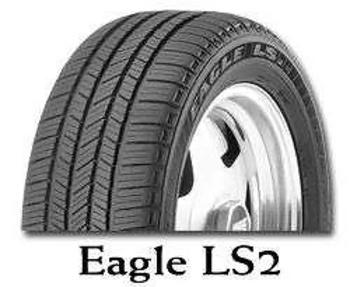 Pneumatiky Goodyear EAGLE LS2 235/55 R19 101V  TL