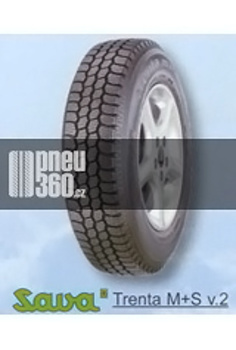 Pneumatiky Sava TRENTA M+S verze 2 205/80 R14 109P  TL